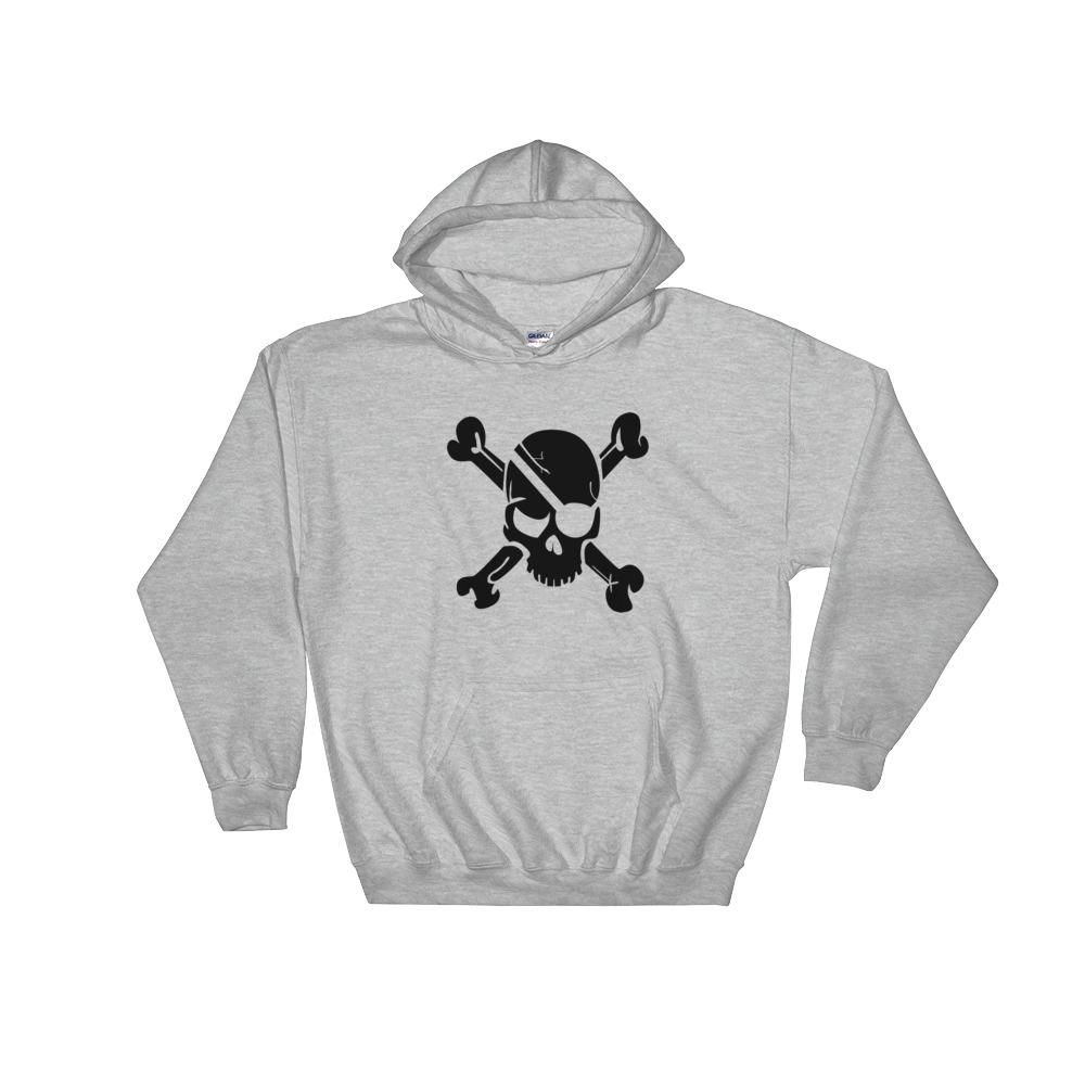Pirate Skull Hooded Sweatshirt