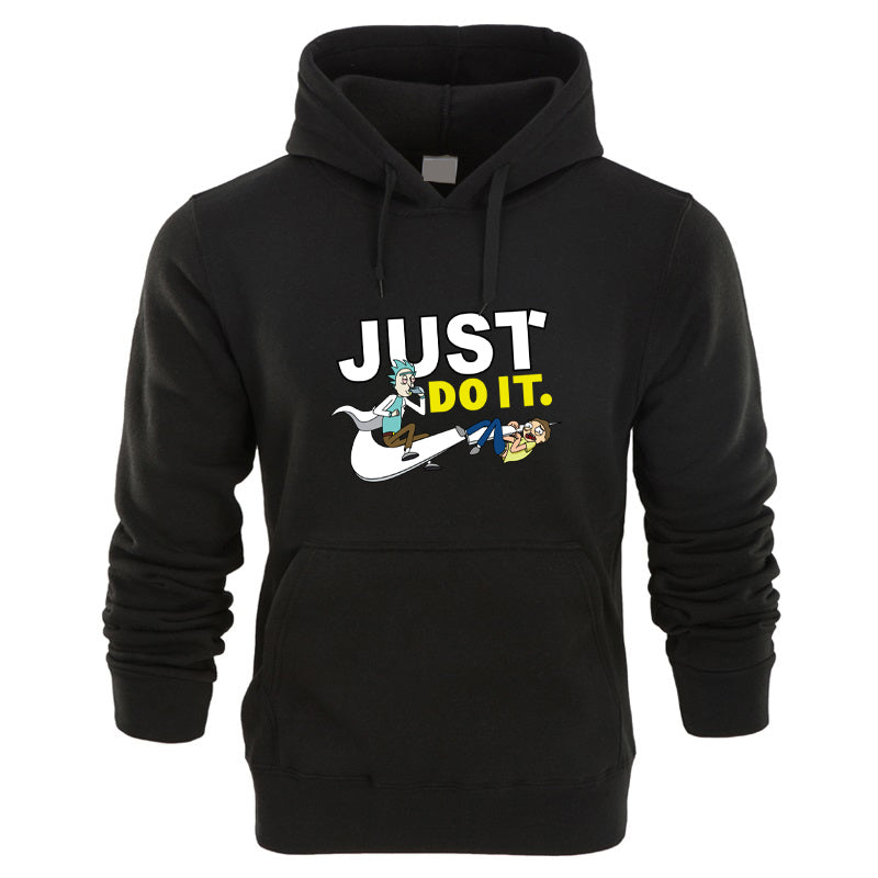 Rick And Morty Hoodies Sweatshirt Men And Women Casual Long Sleeve Just Do It