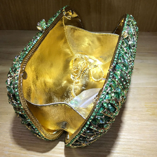 Luxury Champagne Clutch Party Purse