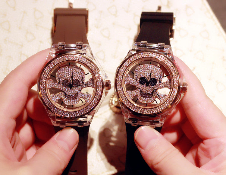 Crystal Skull Women's Watch