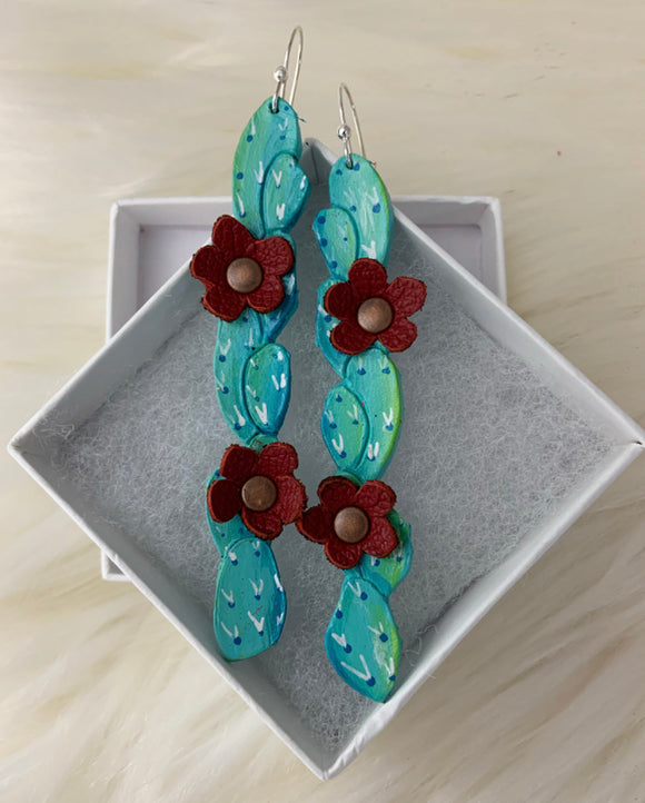 Venti Wild Cactus Earrings