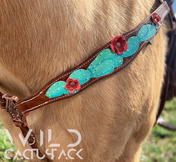 Wild Cactus Breast Collar
