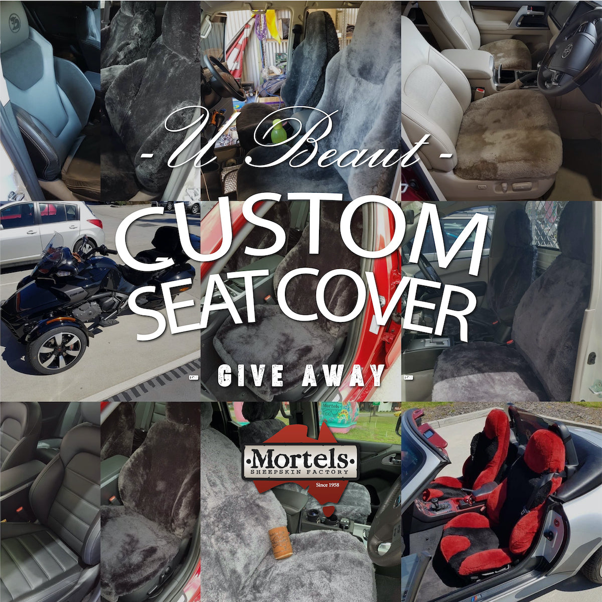 Best Custom Made Sheepskin Seat Covers