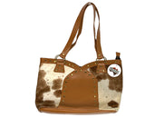 Arch Studded  Cowhide Tote Bag