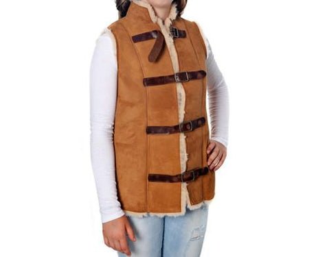 Ladies Chestnut Diggers vest
