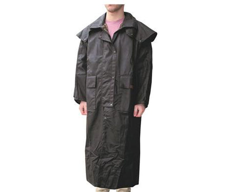 Oilskin Long Coat