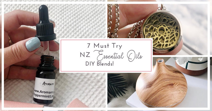 7 Amazing DIY Essential Oil Blends