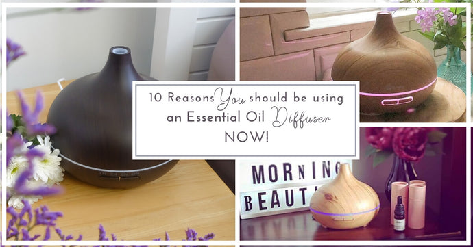 10 Reasons Every Home Should Have An Essential Oil Diffuser