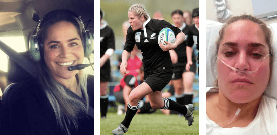 Shannon Willoughby - Rugby, Stroke and Flying