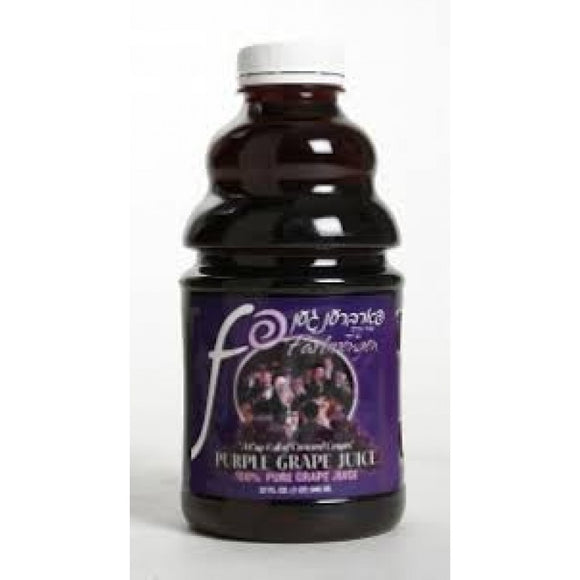 FARBRENGEN GRAPE JUICE 946ML
