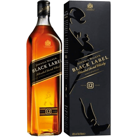 JOHNNIE WALKER BLACK Label 700ml