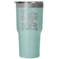 Load image into Gallery viewer, Coffee Before Lifty 30oz Insulated Tumbler - Spartan Mart