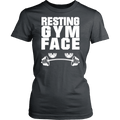 Load image into Gallery viewer, Spartan Mart:T-shirt,Resting Gym Face Women's Apparel