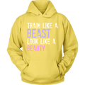 Load image into Gallery viewer, Spartan Mart:T-shirt,Train Like a Beast Look Like a Beauty Apparel