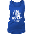 Load image into Gallery viewer, Spartan Mart:Tank Tops,Eat, Sleep, Rink Repeat Women Tanks