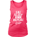 Load image into Gallery viewer, Eat, Sleep, Rink Repeat Women Tanks - Spartan Mart