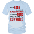 Load image into Gallery viewer, Spartan Mart:T-shirt,Your Body Can Stand Almost Anything (Light) Mixed Apparel