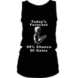 Spartan Mart:T-shirt,Women's Crossfit Tank - Today's Forecast