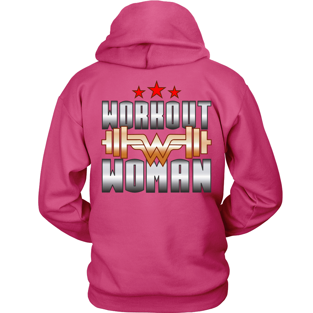 Spartan Mart:T-shirt,Workout Woman Hoodie