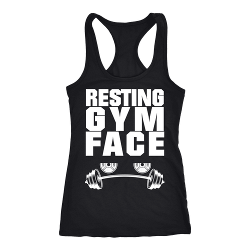 Spartan Mart:T-shirt,Resting Gym Face Women's Apparel