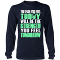 Load image into Gallery viewer, Spartan Mart:T-shirt,The PAIN you feel TODAY, will be the STRENGTH you feel TOMORROW Men's Apparel