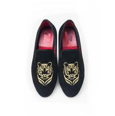 Tiger embroidery Banquet loafer