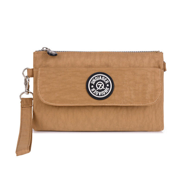 Waterproof Nylon Day Clutch Purse