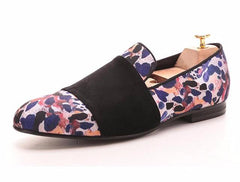 Prints Cotton Fabric Loafer
