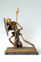 BRONZES Skull skeleton Ghost Saint