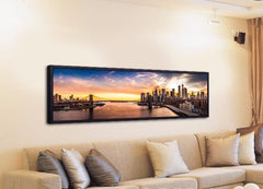 Brooklyn Bridge Panorama Canvas Painting