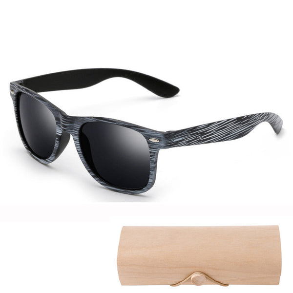Wood Sunglasses bamboo plastic frame sunglasses