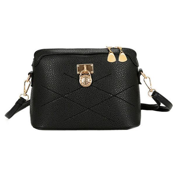 Soft Leather Crossbody  Handbag