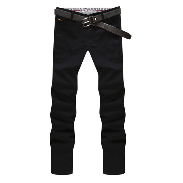 Casual Straight Slim Fit  Trouser