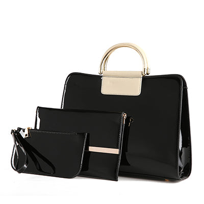 Luxury  Patent leather Composite Bag