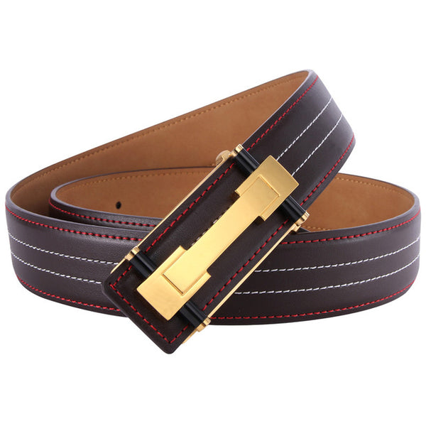 Leather Luxury Strap Belt