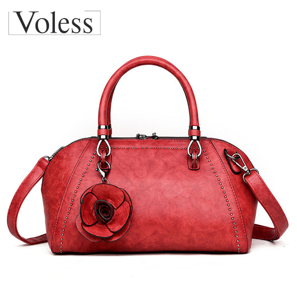 Luxury Flower Designer Leather Bag