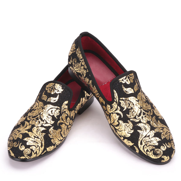 Gold printing Loafer