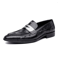 Embossed Leather shoes