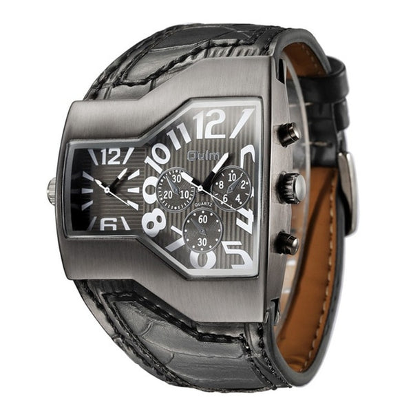 Quartz Sport  Multiple Luxury Wristwatch