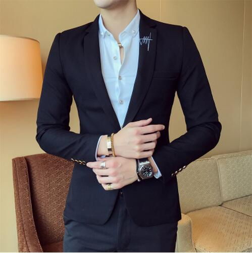 Single Breasted Thicken Business blazer