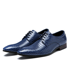 Handmade Jeans Leather Oxfords Shoe