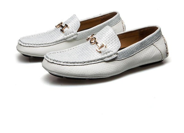 Leather Boat Shoe Loafers