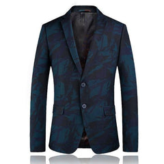 High quality printed casual blazer