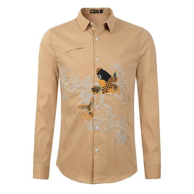 Designer Embroidered Shirt
