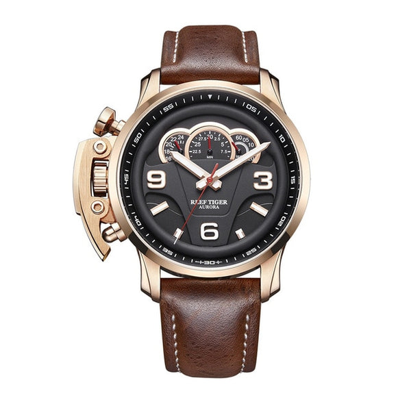 Steel Water Resistant Chronograph Masculino Relojes Watches