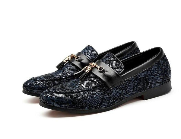 Patent Leather Men Loafer
