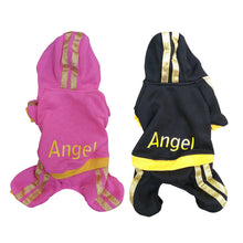 Angel Puppy Dog Hoodie Sweatsuit