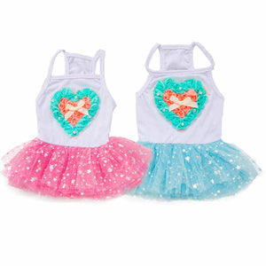 Camisole Gauze Stars Tutu Dress