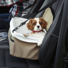 Fur Baby Car Seat Carrier With Leash