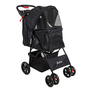 Doggie Stroller with bottom storage